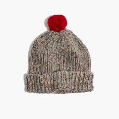 4c7e97fddd2 Madewell Womens Ribbed Pom-Pom Beanie Dog Mom Gifts