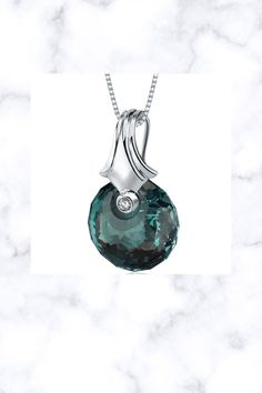 22 CT Color Changing Alexandrite Sterling Silver Pendant Fantasy Jewelry, Alexandrite, Box Chain, Mother Day Gifts, Sterling Silver Pendants, Color Change, Valentines, Pure Products, Gemstones