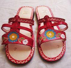 Women's Handmade Mexican Leather Sandal Huaraches size 5 to 10 U.S. -HMS41 #Handmade #FlipFlops
