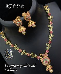 Buy Premium Quality AD Necklace from our online store ShopnSafe with Best Price. Let you neck sparkle with our amazing selection of beautiful necklace.  Our wide range of necklace collections comes in different fancy styles Gold Plated, Silver Plated ladies Necklace and more.
