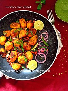 Let's Cook!: Tandoori aloo chaat