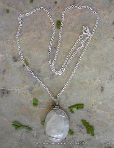 Blue Shine Moonstone Gemstone Silver Plate by CedarCreekCanada