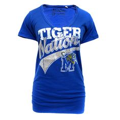 We love this women's Tiger Nation tee!  $18.95
