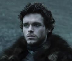 Richard Madden as Robb Stark in Game of Thrones :>