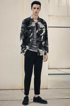 Explore our new arrivals for the latest men's fashion including jackets, shirts, jeans, shoes and accessories. All Saints Men, Ash Stymest, Latest Mens Fashion, Men's Fashion, Tapered Jeans, Slim Pants, Photoshoot Inspiration, Muscle Men, Seersucker
