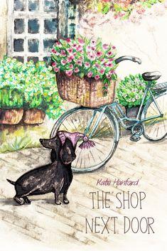 The House Next Door Kate Hanford romantic comedy novella with lots of waggy tails! rescue dogs womens fiction #KateHanford