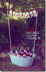 drink station. For more great party ideas visit Get The Party Started…