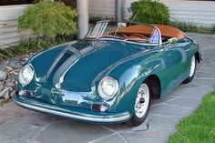 1958 Porsche 356 A Super Speedster  If I was to own a convertible this would be The One