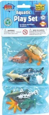 Aquatic Triple Polybag Mini at theBIGzoo.com, a family-owned gift shop with 12,000+ animal-themed items.