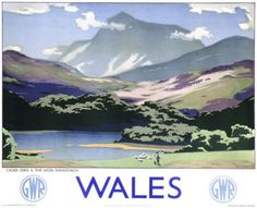 Choose from a limited range of timeless Railway posters from the National Railway Museum Collection. Transform your room and create nostalgic wallpaper murals, ceramic tile murals, canvases and framed art prints from the National Railway Museum today! Posters Uk, Train Posters, Railway Posters, Poster Prints, Art Prints, British Travel, National Railway Museum, Great Western, Snowdonia
