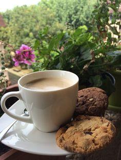 Café con cookies en getxo. I love #summer #beach #coffee #bilbao
