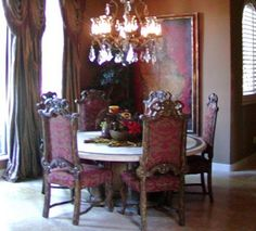 history of gothic design} | Beautiful dining rooms, Style and Dark ...