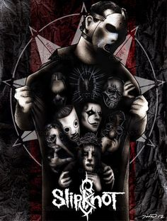 Slipknot Poster by Tim Johnson on CreativeAllies.com