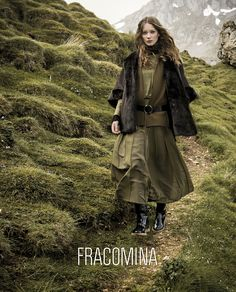 Fracomina F/W 17 - 18 (Various Campaigns) Winter 2017, Fall Winter, Alternative Fashion, 18th, Campaign, Winter Jackets, Coat, Beauty, Nature