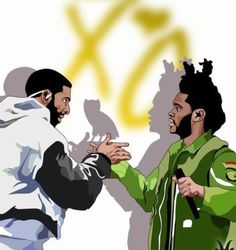 Drake, xo, and the weeknd
