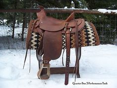 Western Wade Saddle