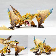 Vulcanlog 001 Tigrex Standard Species from Monster Hunter Revoltech Union Creative [PRE-ORDER]