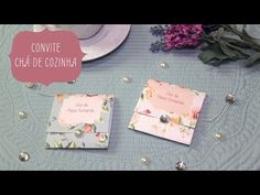 Convite para Chá de Cozinha pronto para Download!