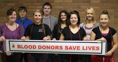 """CBC Richmond Rep Melinda Frech says, """"Way to go Winchester High School National Honor Society for sponsoring outstanding blood drives!"""""""