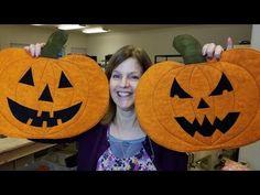 Halloween Jack O' Lantern Pumpkin Placemats - YouTube