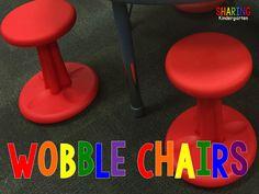 Do You Wobble? {Wobble Chair Love}