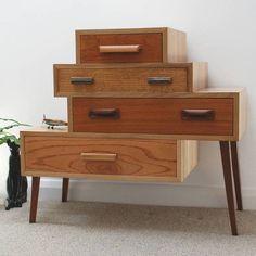 Os gaveteiros são aliados da decoração com organização, confira esse e outros…