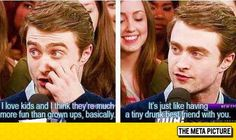 Daniel Radcliffe On Children