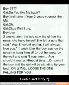 Such a sad story :'(