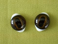 Vintage Taxidermy Glass Deer Eyes by nitebyrd on Etsy, $16.00