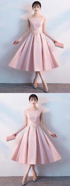 97073d731f353c Cheap Homecoming Dress, Homecoming Dress Pink, Blush Homecoming Dress,  Homecoming Dress Simple #