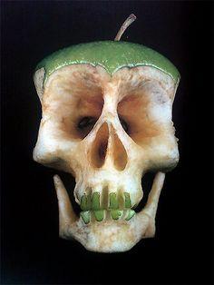 Scariest apple we've ever seen.