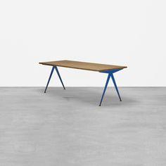127: Jean Prouvé / Grande Compass table from the Electricité de France, Marcoule < Design, 11 June 2015 < Auctions | Wright