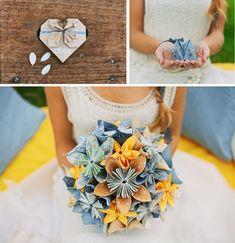 Origami Wedding Decor Inspiration Raphael Melka Photography