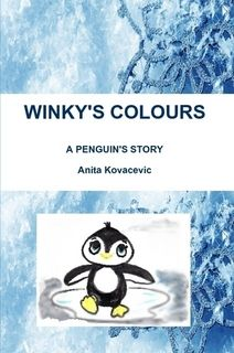 Winky is a little penguin who likes colours. Unfortunately, his polar home is all white and black, and none of his family or friends are interested in colours.  Click for more!