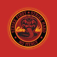Check out this awesome 'Cobra+Kai' design on @TeePublic!