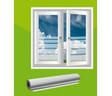 Glasdekorfolie ist eine polymere, weichgemachte PVC-Folie mit milchig- aussehender (gefrostet) Oberfläche. Die Haltbarkeit ist bis zu 7 Jahren, und die Dicke – 80µ. Glasdekorfolien eignen sich als dekorativen Sichtschutz nicht nur für Fenster, sondern auch Türen und Glasscheiben.