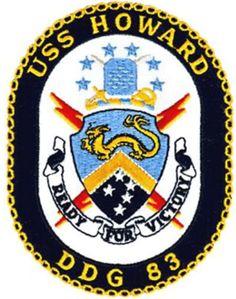 DDG-83 USS Howard Patch