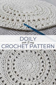 Skip to primary navigation Skip to content Skip to primary sidebar RESCUED PAW DESIGNS CROCHET Helping Crocheters Find Free Crochet Patterns Quickly. FREE CROCHET DOILY PATTERN June 1, 2015 by Krista 1 Comment I am excited to introduce RPD newest design our Large Crochet Doily Pattern! This design is easy to crochet and works up fairly quick! I am sure everyone's in agreement that quick crochet patterns are always a good thing! As well as being an easy crochet project, it makes an amazing…