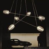 Luminario suspendido  by Vistosi / Damasco SP 6 P  Pendant light, crystal