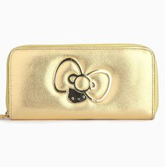#HelloKitty gets the Midas touch on this glam wallet