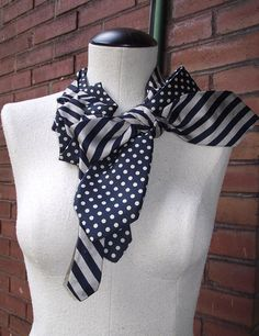 Clever! ...Tie scarf