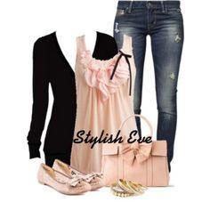Pink & black spring