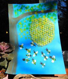 √ Bug Activities for Preschoolers. 9 Bug Activities for Preschoolers. Spring Crafts For Kids, Summer Crafts, Art For Kids, Kindergarten Art, Preschool Crafts, Kids Crafts, Spring Art, Summer Art, Bee Activities
