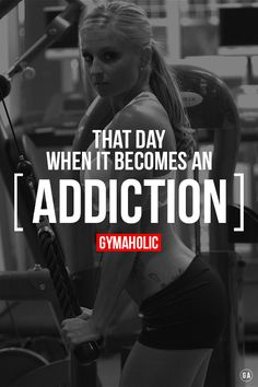 gym // workouts // weight training // h… …. gym // workouts // weight training // health and fitness // strength // muscle // fat loss // motivation // healthy addiction Fitness Studio Motivation, Gewichtsverlust Motivation, Weight Loss Motivation, Weight Lifting Quotes, Training Motivation, Fitness Quotes, Fitness Tips, Health Fitness, Fitness Wear