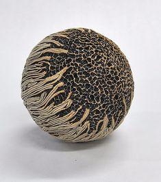 Jumbo Ceramic Rattle: Kelly Jean Ohl: Ceramic Rattle - Artful Home