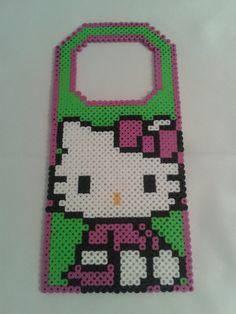 Hello Kitty Door Hanger perler beads by sweet-misery788 on deviantART