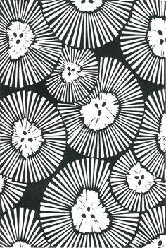 LINOCUT PRINT  Chrysanthemeums  Flower Print by magprint on Etsy, $25.00