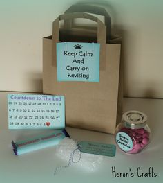 exam kit Keep calm and carry on revising I really need this for exam season <3