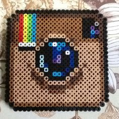 cute perler bead patterns food - Google Search