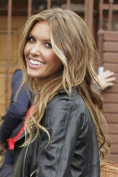 Light brown hair with blonde highlights. Going this color - close to my natural color
